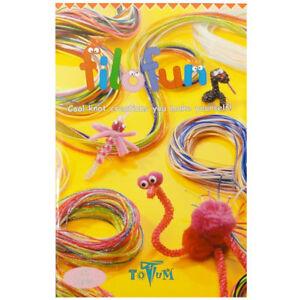 Filofun Scoubidou Instruction Book - How To Weave Scoobie Strings Scooby Book