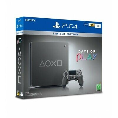 PlayStation 4 1TB Days of Play Limited Edition Gaming Console