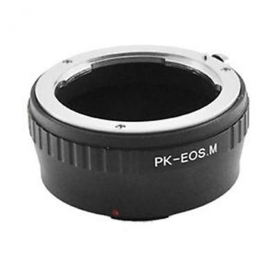 Pentax K Pk Lente Para Canon EOS M EF-M Montaje sin Espejo...