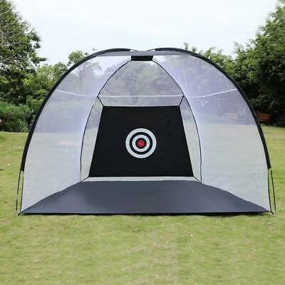 Training Tent (Golf Net Training Aid Hitting Practice Lawn Driving Range Cage Tent Exercise)