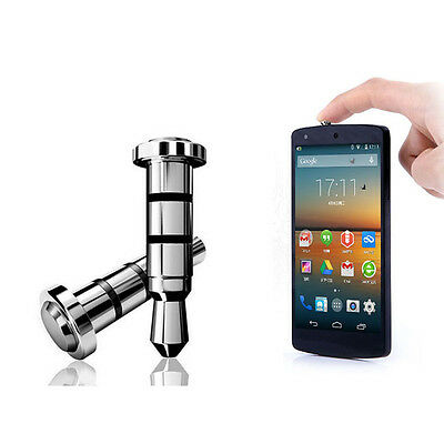 2PCS Phones Dust Plug Shortcut Click Quick iKey Press Buttons For Android OS APP