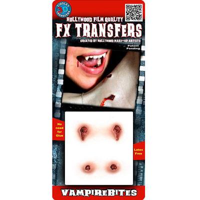 tät Profi FX-Wunde, Halloweenkostüm Zubehör Makeup Dracula (Vampir Biss Kostüm)