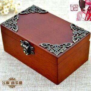 CLASSIC Rectangle jewelry Music Box : ELFEN LIED - LILIUM