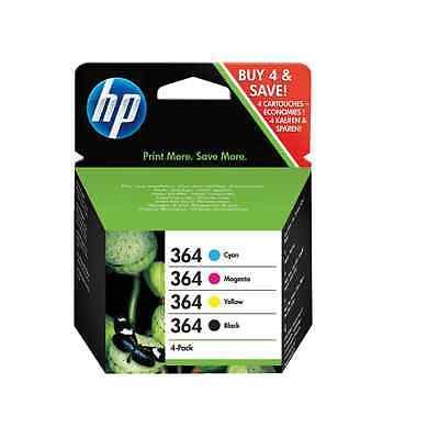 ORIGINAL HP Patronen Set Nr.364 SD534EE - NEU schwarz, gelb, cyan, magenta