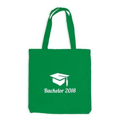 Jutebeutel - Bachelor 2018 Doktorhut - Abschluss Studium
