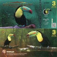 Atlantic Forest - 3 Aves Dollar 2016 Fds Unc -  - ebay.it