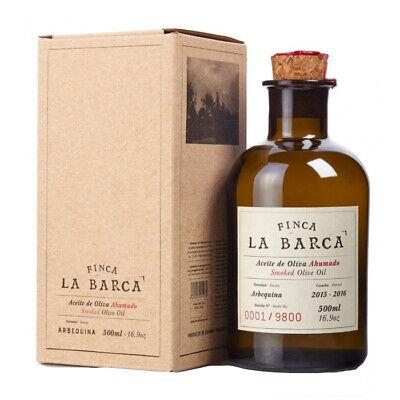 Aceite de Oliva Ahumado Finca La Barca 500 ml.