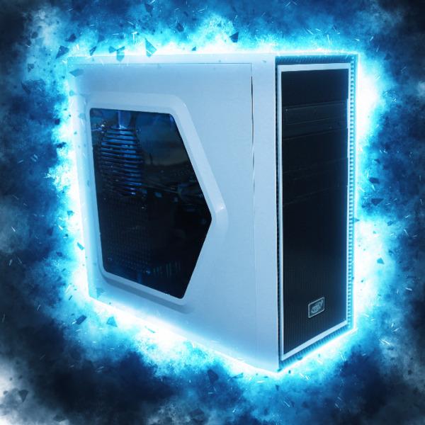 Snowstorm Gaming PC - i3-7100, 8GB, 120GB SSD   1TB, GTX1060, Win