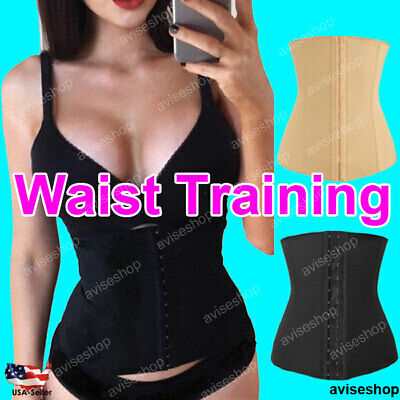 Best Corset Workout Slim Waist Cincher Trainer Girdle Shaper Workout Belt #
