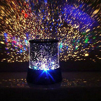 Romantic Cosmos Star Master LED Projector Lampe Night Licht Gift Beliebt HOT ()