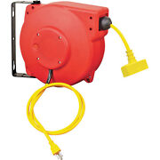 Retractable Electric Cord Reel