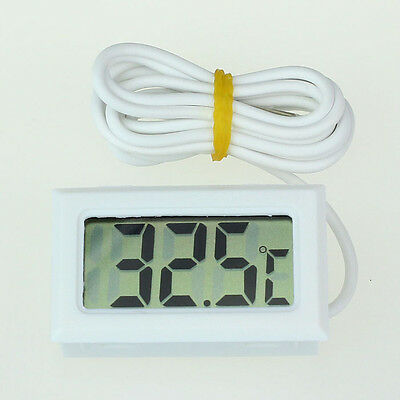 Mini Digital LCD High Temperature Thermometer Sensor With Probe Celsius