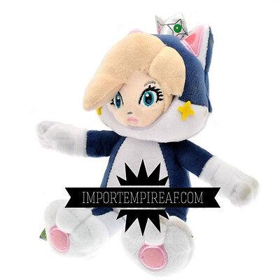 Super Mario 3D Cat Prinzessin Rosalind Plüsch New Plush Rosalina Rosette Wii ()