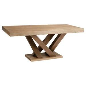 Madero Driftwood Rectangular Large Dining Table