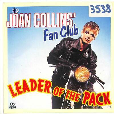 """The Joan Collins' Fan Club - Leader Of The Pack - 7"""" Vinyl Record"""