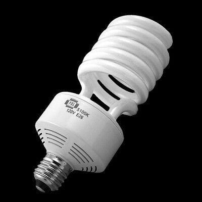 50 Watt Compact Fluorescent Full Spectrum Hi Output Photo Video Daylight Bulb