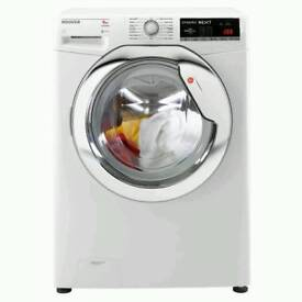 GRADED HOOVER DXOA49C3 9 KG WASHING MACHINE - WHITE WITH 12 MONTHS WARRANTY