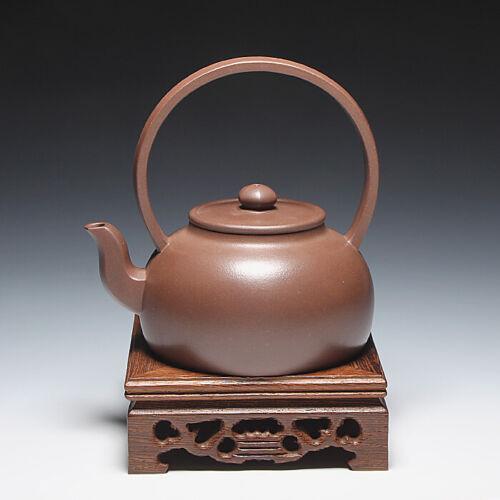 OldZiSha-Rare China Yixing Zisha Old 1st Factory Artisit  230cc Teapot,1980