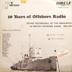 10-YEARS-OF-OFFSHORE-RADIO-UK-Press-Jumbo-R100-101-Mono-2-LP