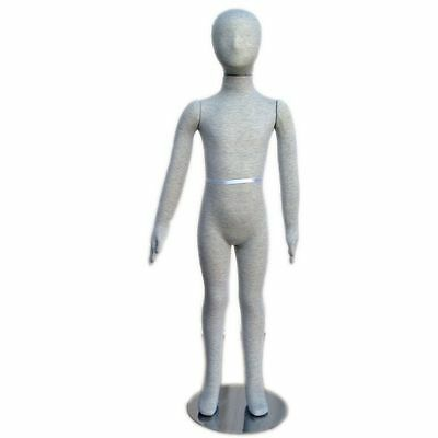 Mn-099 Pinnable Flexible Child Kid Mannequin With Head 3 9 5c-6c