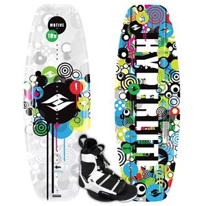 HYPERLITE MOTIVE JR WAKEBOARD + SPRINT BOOTS - KID'S 2009