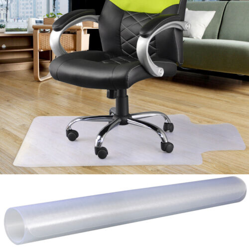 pvc home desk office chair floor mat for hard wood floors 47 x 35