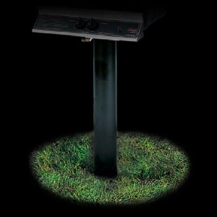 "MHP Grill Black 48"" Long 4"" Diameter Aluminum In-Ground Post"