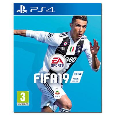FIFA 19 PS4 - PLAYSTATION 4 - АНГЛИЙСКИЙ - СТАНДАРТНОЕ ИЗДАНИЕ - НОВОЕ - ПРЕДЛОЖЕНИЕ