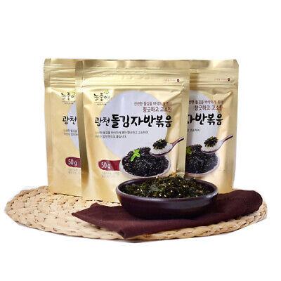 [Nuelpumae] Roasted and Salted Gwangcheon Seasoned Laver Flakes 50g × 5ea