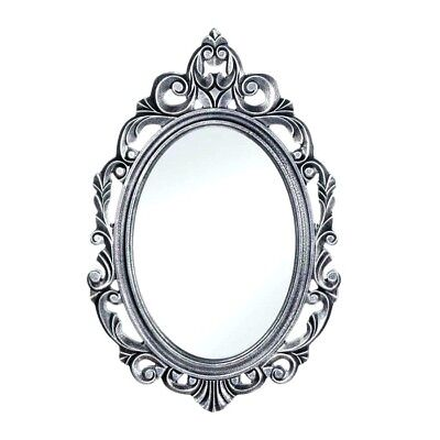 Oval Mirror (Silver Royal Crown Oval Wall Wood)