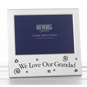 We Love Our Grandad Photo Frame Birthday Christmas Fathers day Gift Present