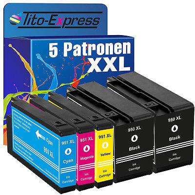 5 für HP 950 951 XL Officejet Pro 8100 8600 8610 8615 8620 8630 8640 251 276 DW online kaufen