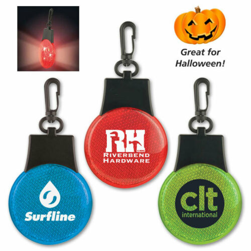 DELUXE 3-WAY SAFETY LIGHTS - 100 quantity - Custom Printed with Your Logo