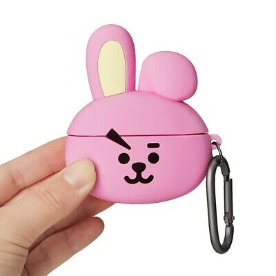 LINE FRIENDS BT21 COOKY Basic Case for AirPods Pro w Keyring Official Goods BTS