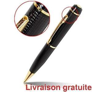 Camera cachee  HD Spy Pen, Mini camera Stylo /  Mini Camera Spy Pen