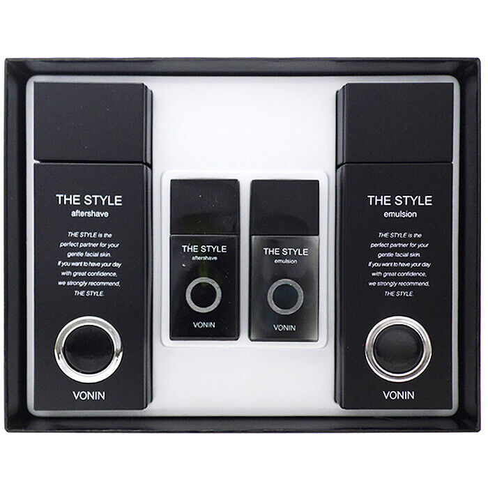 VONIN The Style Men Skin Care 2PCS Gift Set For All Skin Typ