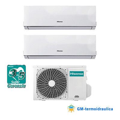 Climatizzatore Condizionatore Inverter Hisense New Comfort Dual Split 7 9 9 12