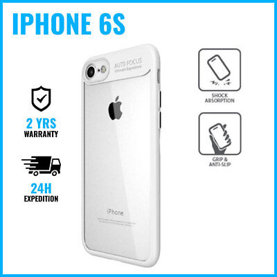 Focus Armor Cover Cas Coque Etui Silicone Hoesje Case Black For iPhone 6S White