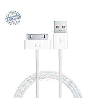 Genuine OEM Apple USB Sync Data Charging Cord Cable iPhone 4S 4 3G 3GS iPad 2 3