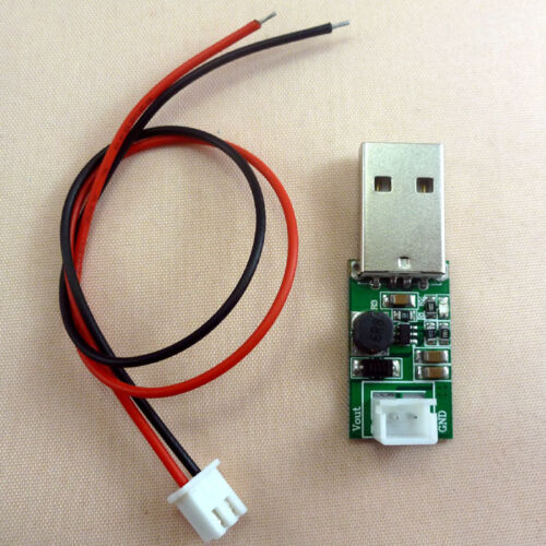 6W USB Boost Cable DC-DC 5V Step Up to 12v Voltage Converter Power Charger v