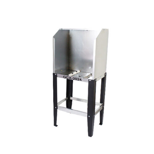 Quick Clean QCX-2024 Econo Floor Washout Booth - without A.B.
