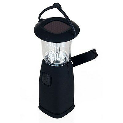 Whetstone 6 LED Camping Lantern - Solar & Dynamo Powered - Conceal for Emergencies