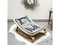 "Design Baby bouncer ""Levo"" Charlie Crane - excellent condition"