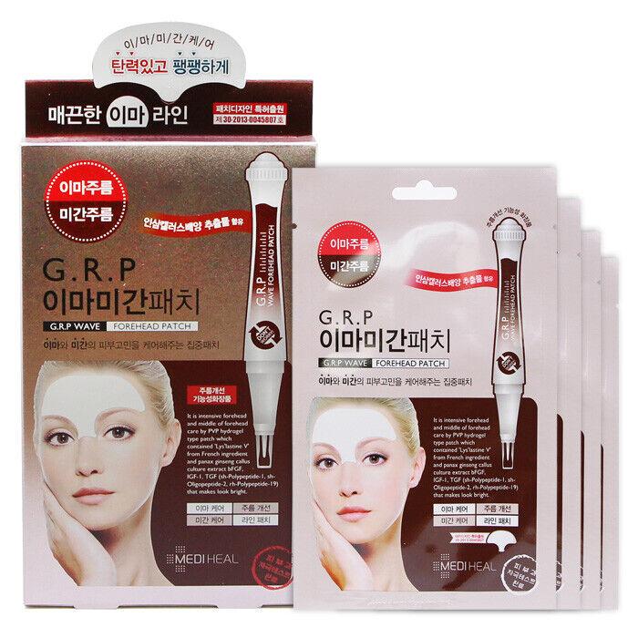 [MEDIHEAL] GRP Wave Forehead Patch Set 1pack(4pcs) Korea Cosmetics Beauty
