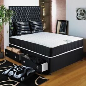 Luxry Kingsize Luxury Memory Ortho Bed and Mattress - SAME DAY DELIVERY! 14-DAY MONEY BACK GUARANTEE