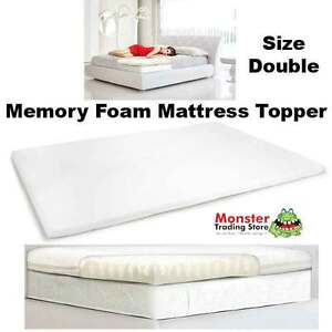 royal comfort memory foam mattress topper size double ebay. Black Bedroom Furniture Sets. Home Design Ideas