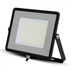 100W Cool White Outdoor Security LED Floodlight Outside Garden Waterproof Lamp
