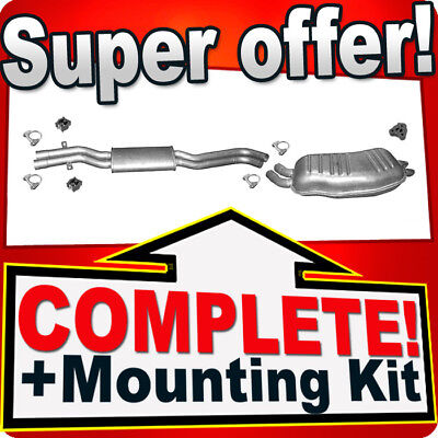 Used, BMW 3 E46 330 d / Xd / Cd 3.0 D TDI 1999-2006 Silencer Exhaust System R88 for sale  United Kingdom