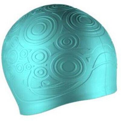 Speedo Silicone Kaleidoscope Swim Cap, Blue ()