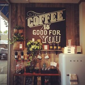 Coffee shops / empty land wanted